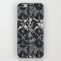 monty python iPhone & iPod Skins featuring Speckled Python by Angela M. Designs