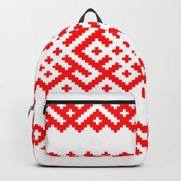 Pattern - Bogoroditsa - Slavic symbol Backpack
