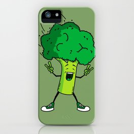 Broccoli rocks! iPhone Case