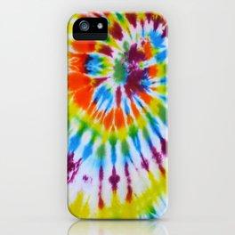 Tie Dye 008 iPhone Case