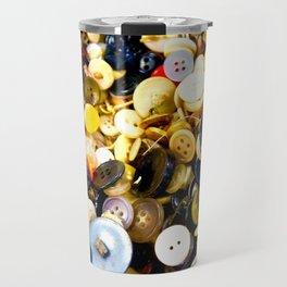 Pushing Buttons Travel Mug