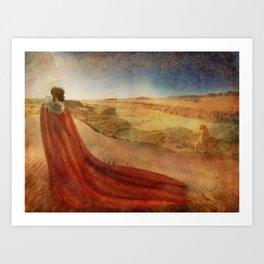 In a Maasai Dream Art Print