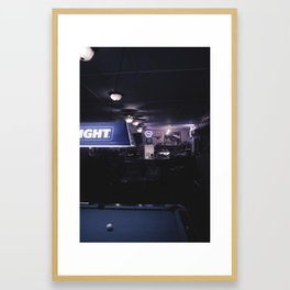 Bud Light Framed Art Print