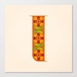 I - Amarilis Canvas Print