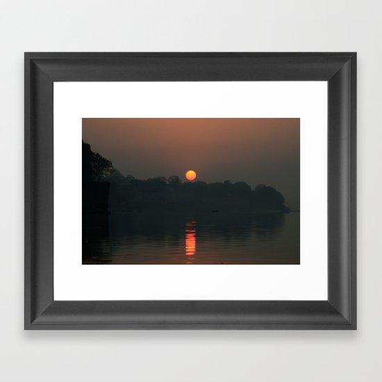 The Rising Star! Framed Art Print