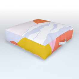 above the clouds Outdoor Floor Cushion