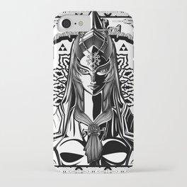 Legend of Zelda Midna the Twilight Princess Line Work iPhone Case