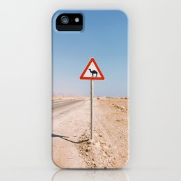 Camel Crossing iPhone Case