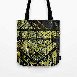 Industrial Pattern Tote Bag