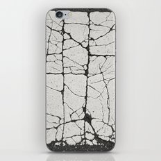 Cracked Crossing iPhone & iPod Skin