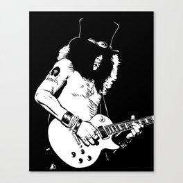 SLASH BW2 Canvas Print