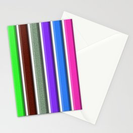 Bars/Barras Stationery Cards