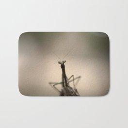 Praying mantis Bath Mat