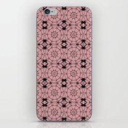 Bridal Rose Pinwheels iPhone Skin