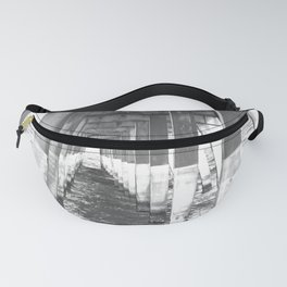 Black and White Pier (Wrightsville Beach, NC) Fanny Pack