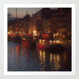 Nyhavn - Copenhagen Art Print
