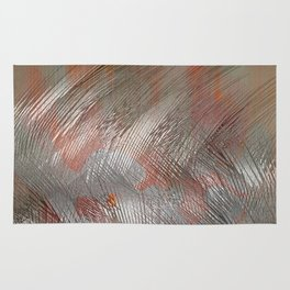 Silver lines Rug