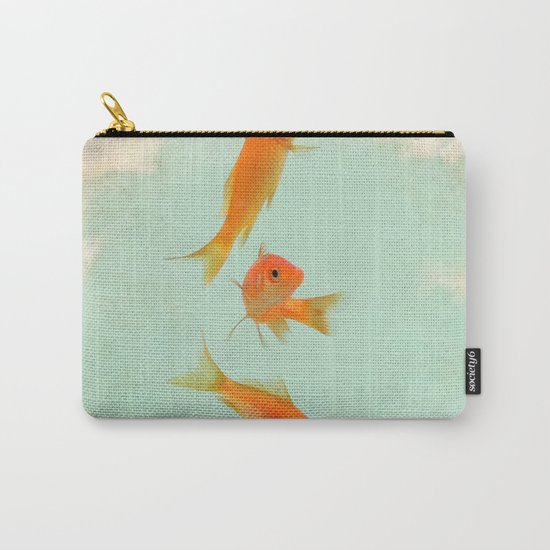 Goldfish in the sky Carry-All Pouch