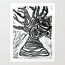 The Eye of Nature Art Print