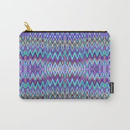 Missoni Style Blue Carry-All Pouch