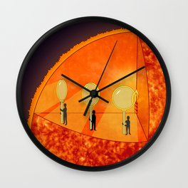 Inner Workings of the Sun Wall Clock