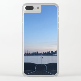 Sunset in North Vancouver Clear iPhone Case