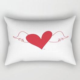 Wings Of Love Rectangular Pillow
