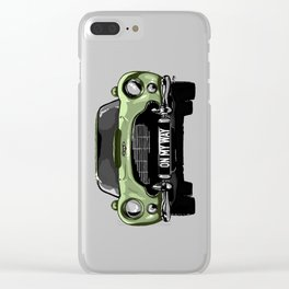 On my Way Clear iPhone Case
