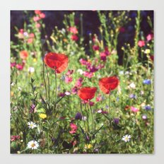 A floral spot on Earth Canvas Print