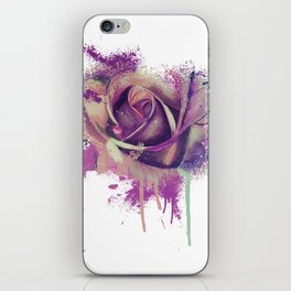 Purple Flower iPhone Skin