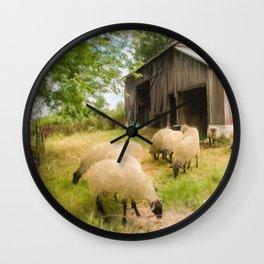 Little Sheep Wall Clock