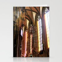 vienna Stationery Cards featuring Only Vienna by Stokes Whitaker