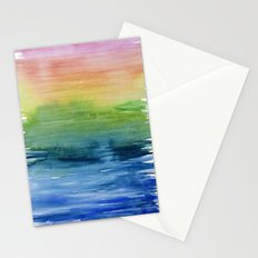 Fade Into Rainbows Stationery Cards