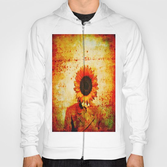 Head of sunflower Hoody