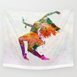 dancing to the night  Wall Tapestry