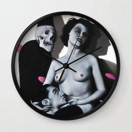 Till Death Wall Clock
