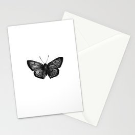 Minimalista borboleta 1 Stationery Cards