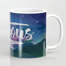 Stay Curious - Go explore the planet the stars and nature Coffee Mug