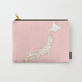 Japan map Carry-All Pouch