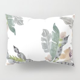 Palm Leaf Twist Pillow Sham