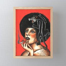 Angela Framed Mini Art Print