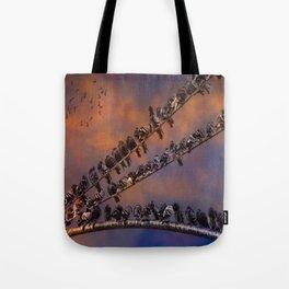 Pigeon Gangs Tote Bag