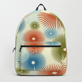 Retro Flower Pattern #society6 #buyart #decor Backpack