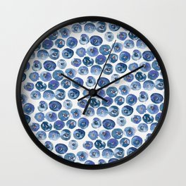 Blueberry Dreams Wall Clock