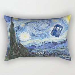Vincent and The Doctor 2 Rectangular Pillow