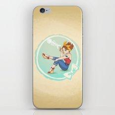 Fishbone Pin-up iPhone & iPod Skin