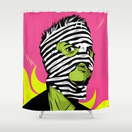 Fink (The Network) Shower Curtain