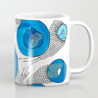 lace Mugs featuring Lace by Gosia&Helena