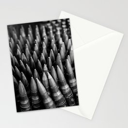 Rounds for Rounds Black and White Stationery Cards