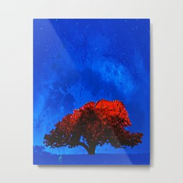 Fire Tree IV Metal Print